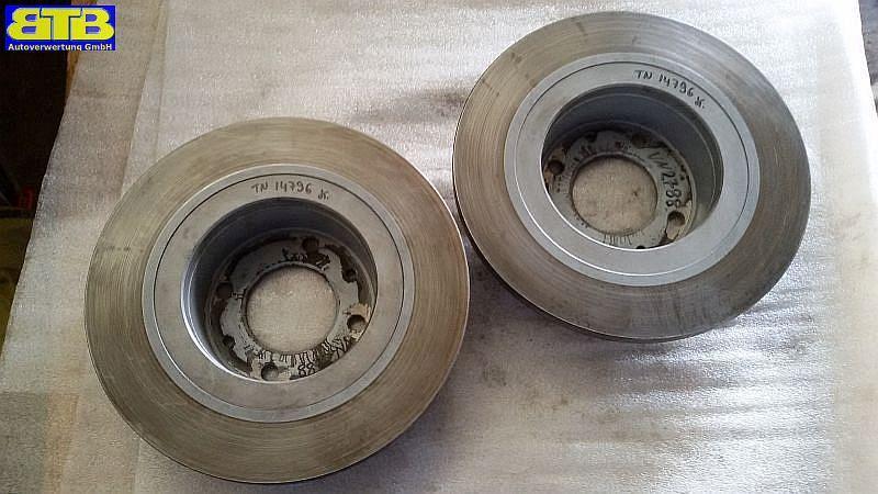 Bremsscheibe hinten 1 Satz= 2 Stück Scheibenstärke: 14mm CITROEN C5 BREAK (RE_) 2.0 HDI 100 KW VERGLNRJURID562189J
