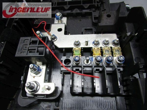 Deckel Sicherungskasten Batteriekasten PORSCHE CAYENNE (955) 3,6 07-10 213 KW 7L0937555A7L0937548C Bild 3