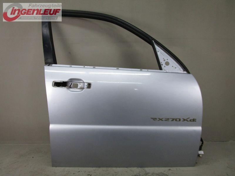 Tür Türe rechts vorn SAF Fine Silver Metallic SSANGYONG REXTON (GAB_) 2.7 XDI 120 KW