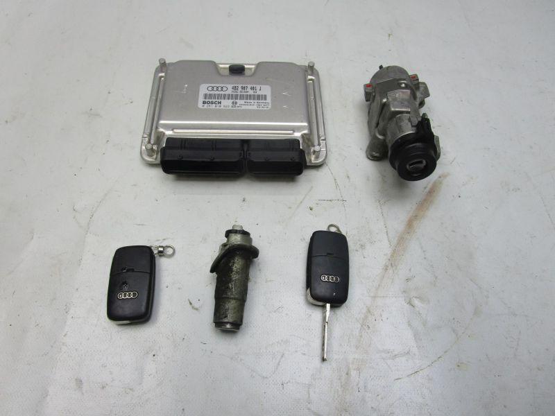 Steuergerät Motor Schließsatz AUDI A6 (4B, C5) 2.5 TDI 132 KW 4B2907401J