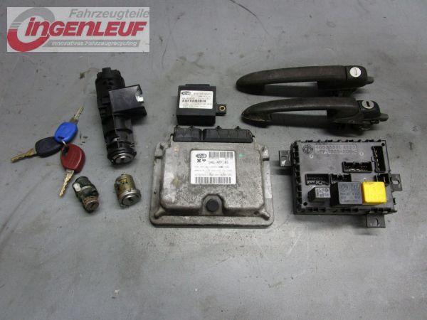 Steuergerät Motor Schließzylindersatz FIAT BRAVO I (182) 1.6 16V 66 KW 46799769