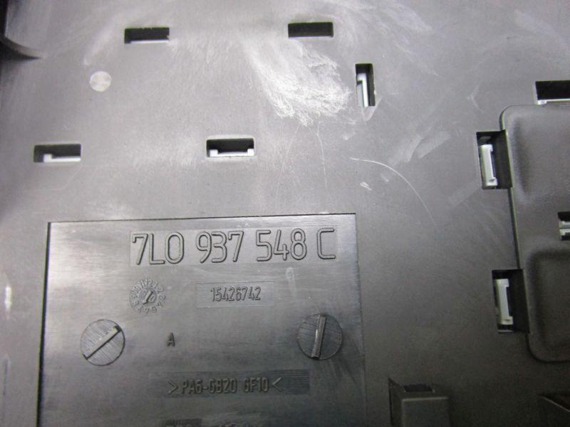 Sicherungskasten Motorraum PORSCHE CAYENNE (955) S 4.5 9PA 02-07 250 KW 7L0937548C Bild 3