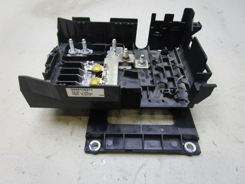 Sicherungskasten Motorraum PORSCHE CAYENNE (955) S 4.5 9PA 02-07 250 KW 7L0937548C Bild 4