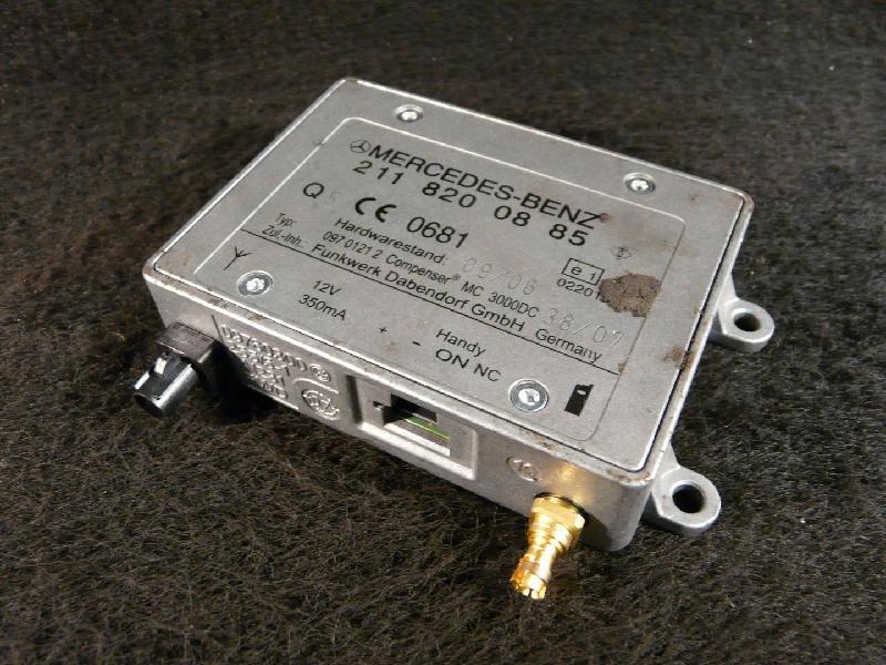 Steuergerät Antennenverstärler W211 2.2 125kw Mercedes-Benz E-Klasse Kombi (Typ:211) E 220 CDI (211,208)