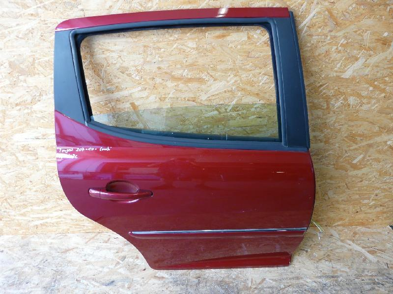 Tür hinten rechts Peugeot 207 82kw KJC Peugeot 207 Lim. (Typ:)