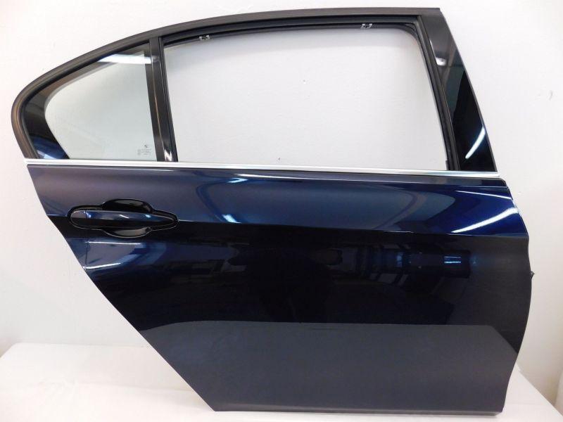 Tür h.r. mit ZV, mit el. Fensterheber Tür hinten rechts 3er F35 Langversion Imperialblau BMW 3 (F35) 328IA XDRIVE 180 KW