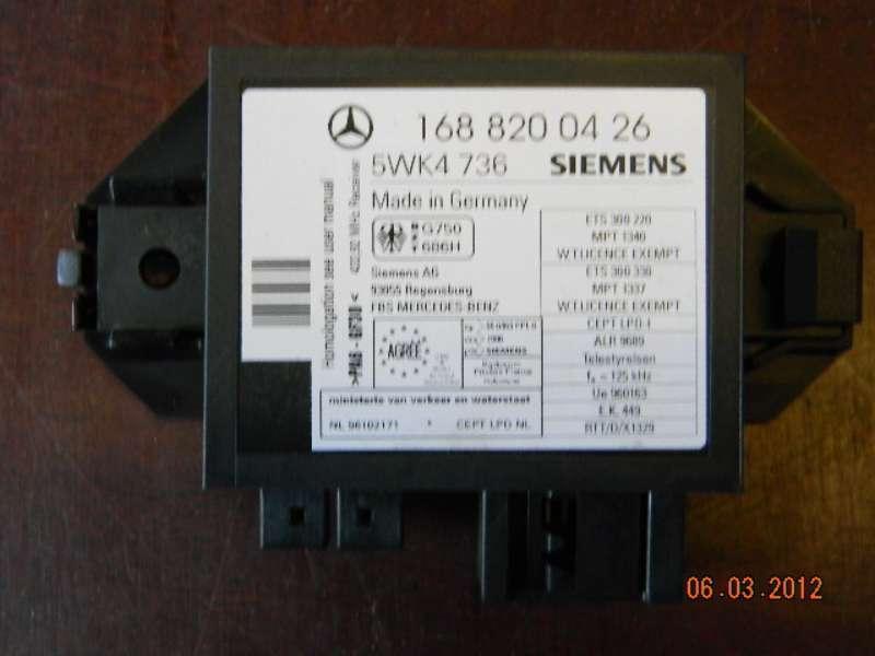 Steuergerät Wegfahrsperre Mercedes-Benz A-Klasse W168 140/160/170/190/210 (T