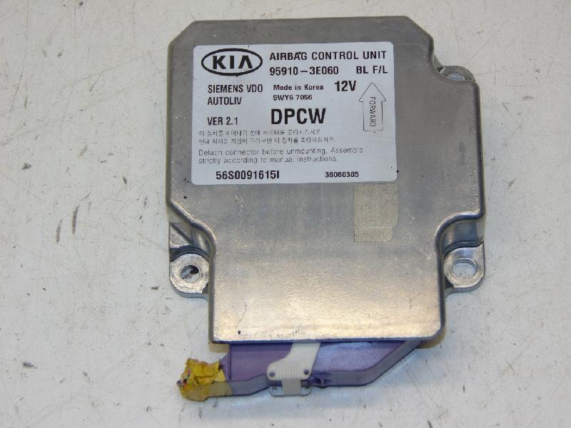 Airbagsteuergerät 2.5 CRDi 125kw Kia Sorento (Typ:JC) LX