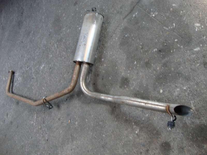 Auspuff hinten Vivaro Bj 2009 (2,5 Diesel(2463ccm) 99KW G9U730 G9U730)