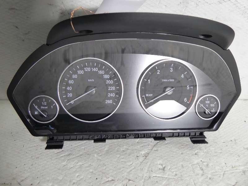 BMW 4er 420D F33 Cabrio  Kombiinstrument , Tacho , Geschwindigkeitsanzeige , Defekt !  9325207 -01 , 420 D 135 KW