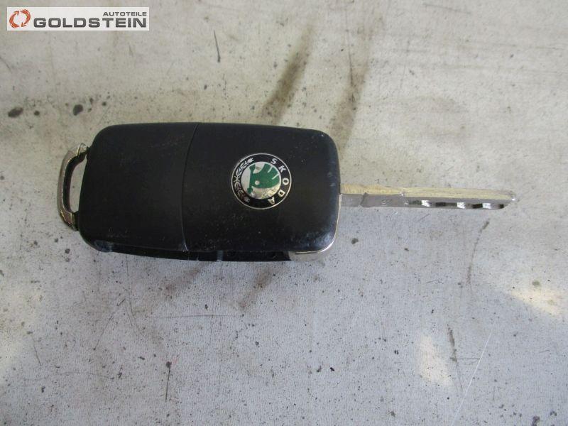 Zündschlüssel Funkschlüssel Autoschlüssel SKODA ROOMSTER (5J) 1.4 TDI 59 KW