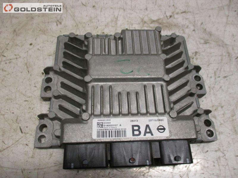 Steuergerät Motorsteuergerät ECU PCM K9K 282 NISSAN QASHQAI (J10, JJ10) 1.5 DCI 78 KW 23710JD59C