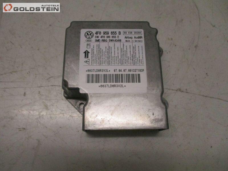 Steuergerät Airbag Airbagsteuergerät Airbagsteuergerät AUDI A6 AVANT (4F2, C6) 2.0 TDI 103 KW 4F0959655B