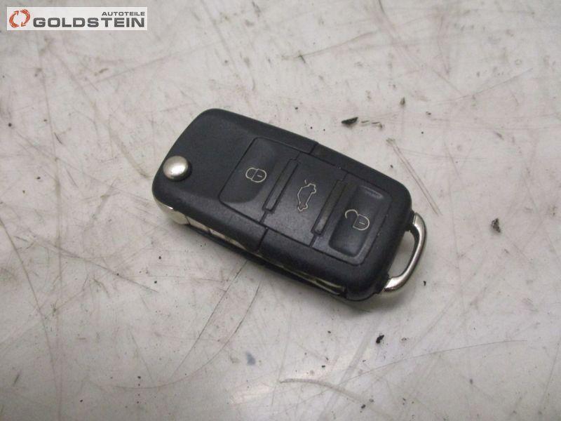 Zündschlüssel Funkschlüssel Fernbedienung VW TOURAN FACELIFT (1T1, 1T2) 1.9 TDI 77 KW