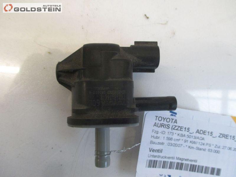 Ventil Unterdruckventil Magnetventil TOYOTA AURIS (ZZE15_, ADE15_, ZRE15_, NDE15_) 1 91 KW 90910-12276