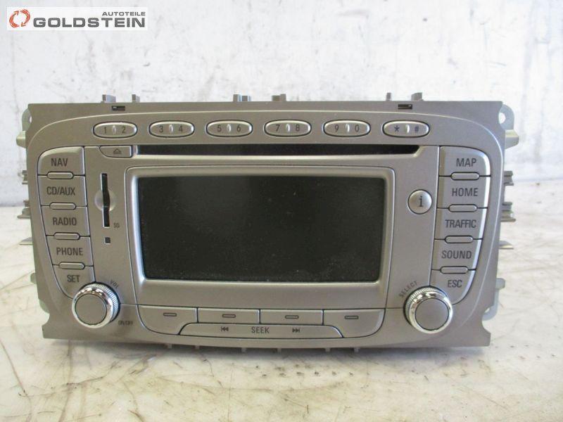 Radio/Navigationssystem-Kombination Autoradio CD Kartenleser Karte Deutschland FORD MONDEO IV TURNIER 2.0 TDCI 105 KW 8S7T18K931AC