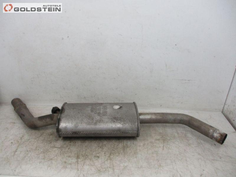 Walker Auspuff mitte Mitteltopf Mittelschalldämpfer VW T4 2,4 2,5 D TDI Syncro