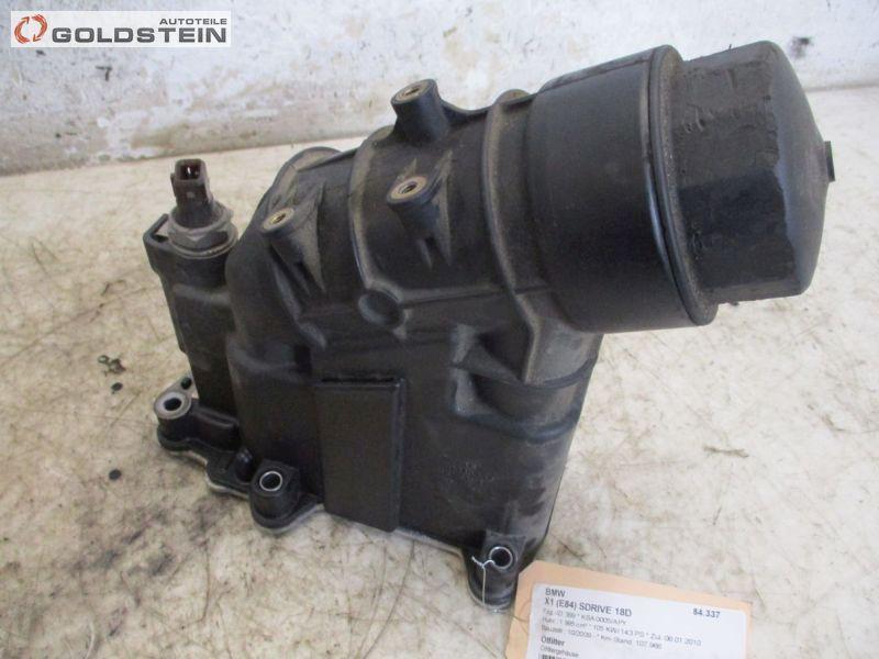 Ölfilter Ölfiltergehäuse BMW X1 (E84) SDRIVE 18D 105 KW 703462292