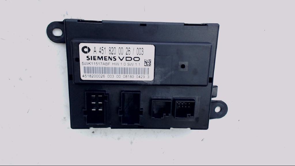 Steuergerät Türsteuergerät MCC Smart Bj 2008 A4518200026