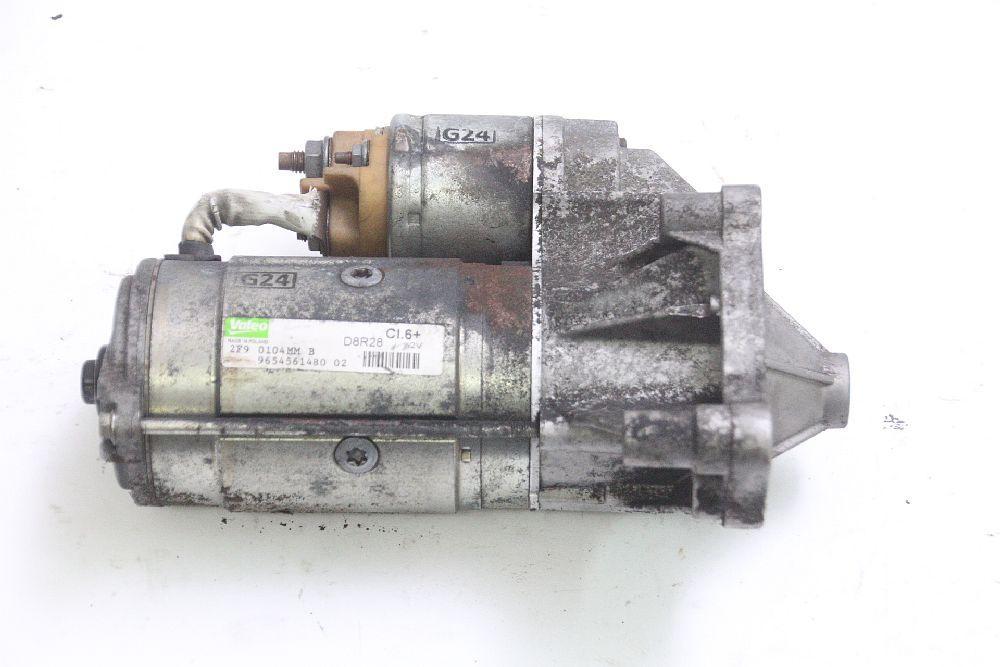 Anlasser Citroen C4 1 LC 9654561480 VALEO 2,0 100 KW 136 PS Diesel 03/2010