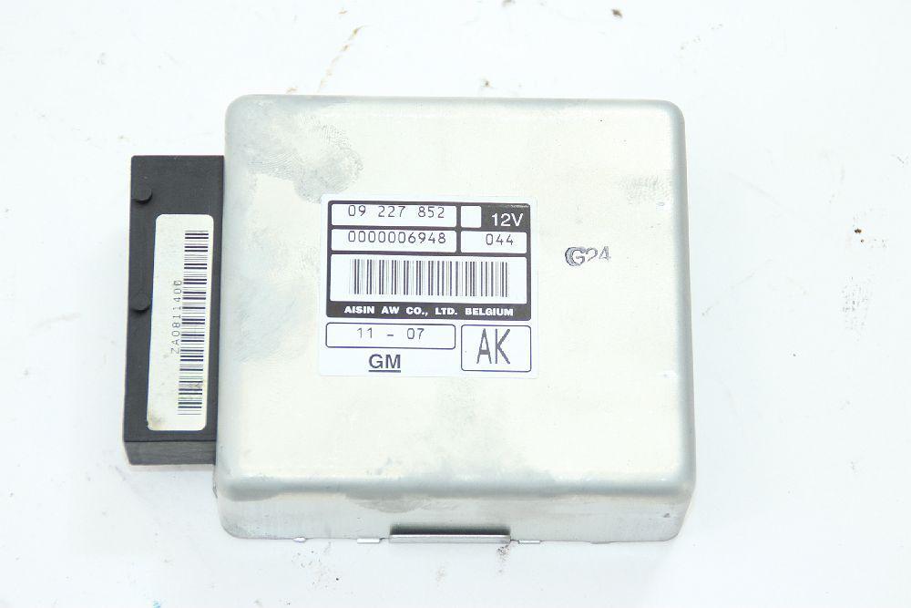 Getriebesteuergerät Opel VECTRA B 09227852AK AISIN 2,6 125 KW 170 PS Benzin