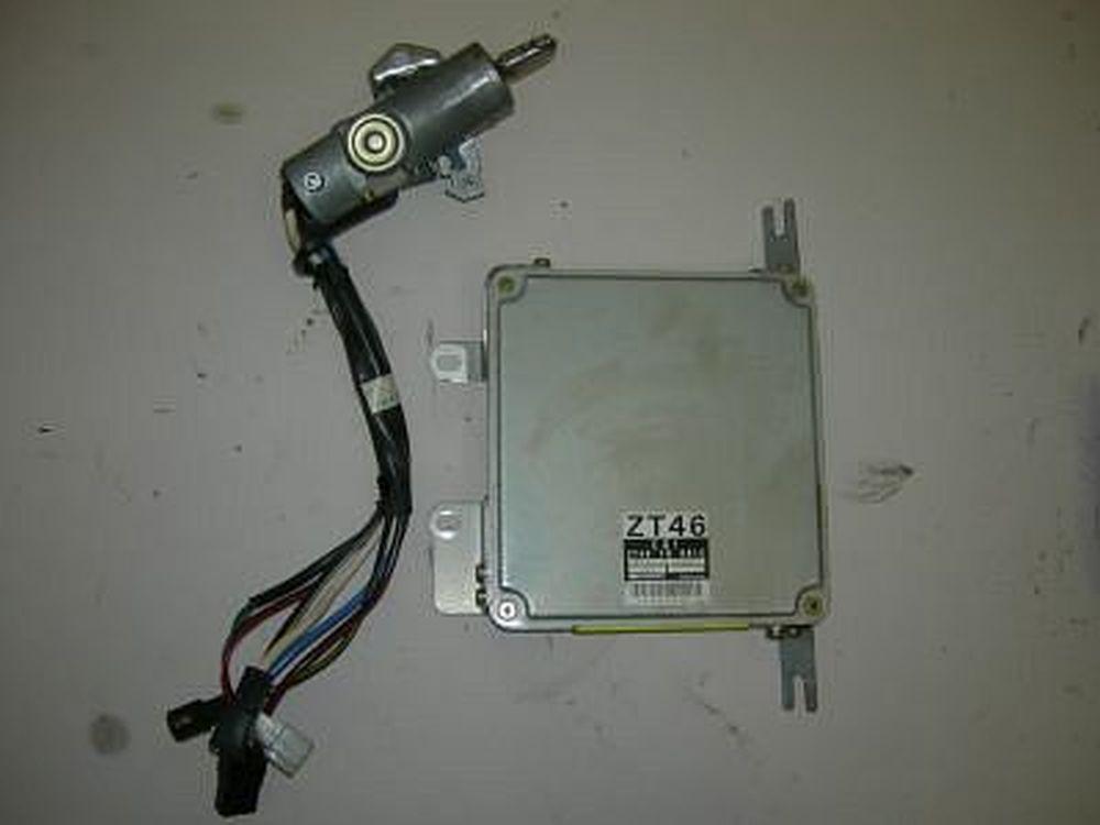 Motorsteuergerät Kia SEPHIA FA ZT4618881C mit Zündschloß Denso 1,6 59 KW 80 PS