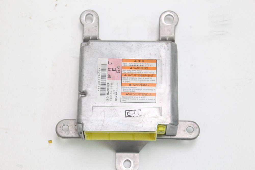 Airbagsteuergerät Subaru FORESTER 3 SH 98221SC030 DENSO 2,0 02/2010