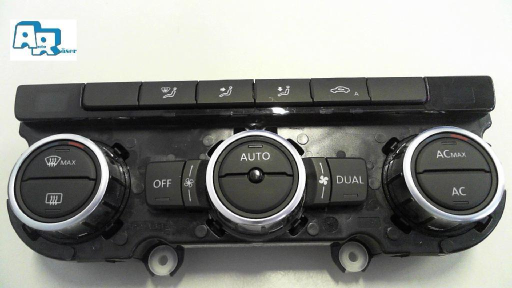 Klima  Bedienteil Climatronic Heater Control 3AA907044B VW Passat
