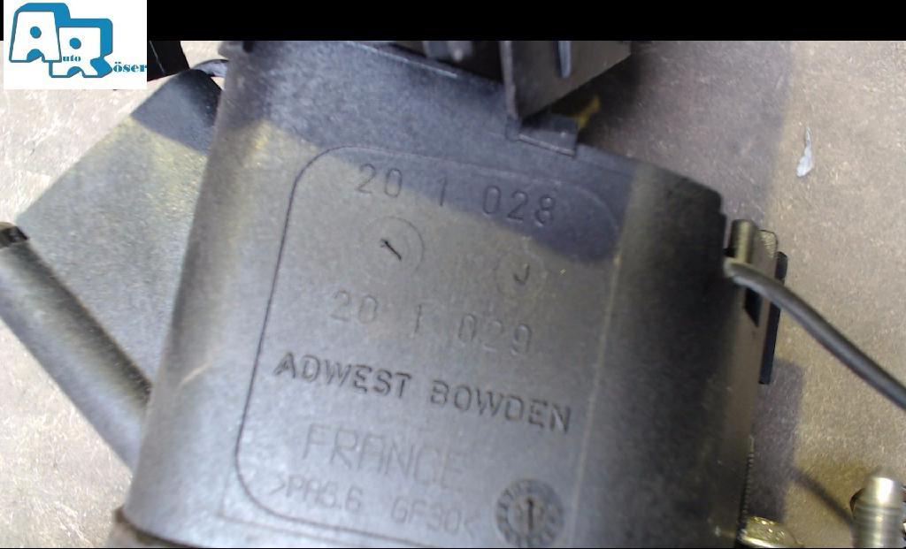 wählhebel automatikgetriebe schaltkulisse schaltgestänge 201028