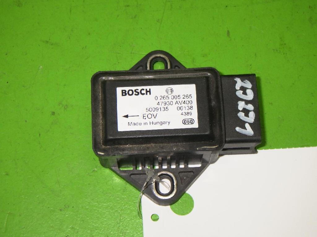 Sensor Querbeschleunigung NISSAN (DATSUN) NOTE (E11, NE11) 1.5 dCi 0265005265