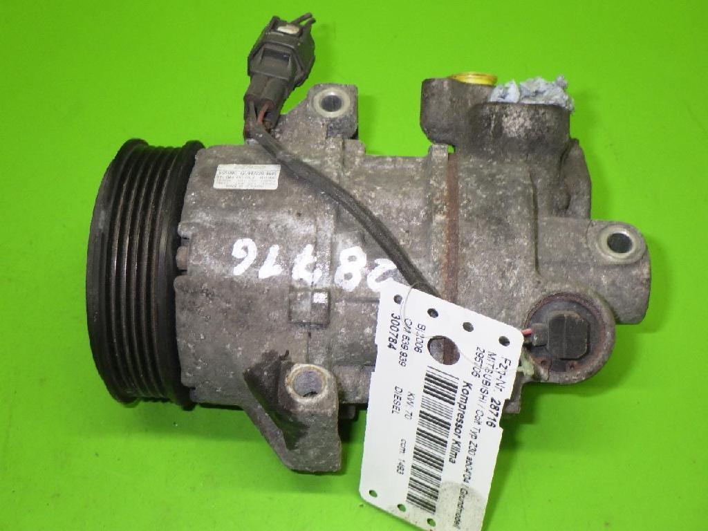 Kompressor Klima MITSUBISHI COLT VI (Z3_A, Z2_A) 1.5 DI-D 5SE09C