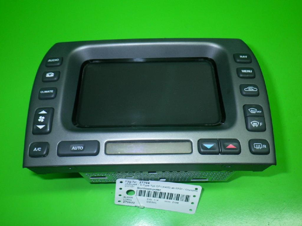 Bordcomputer JAGUAR X-TYPE (CF1_) 2.2 D 1X43-10E889-GC