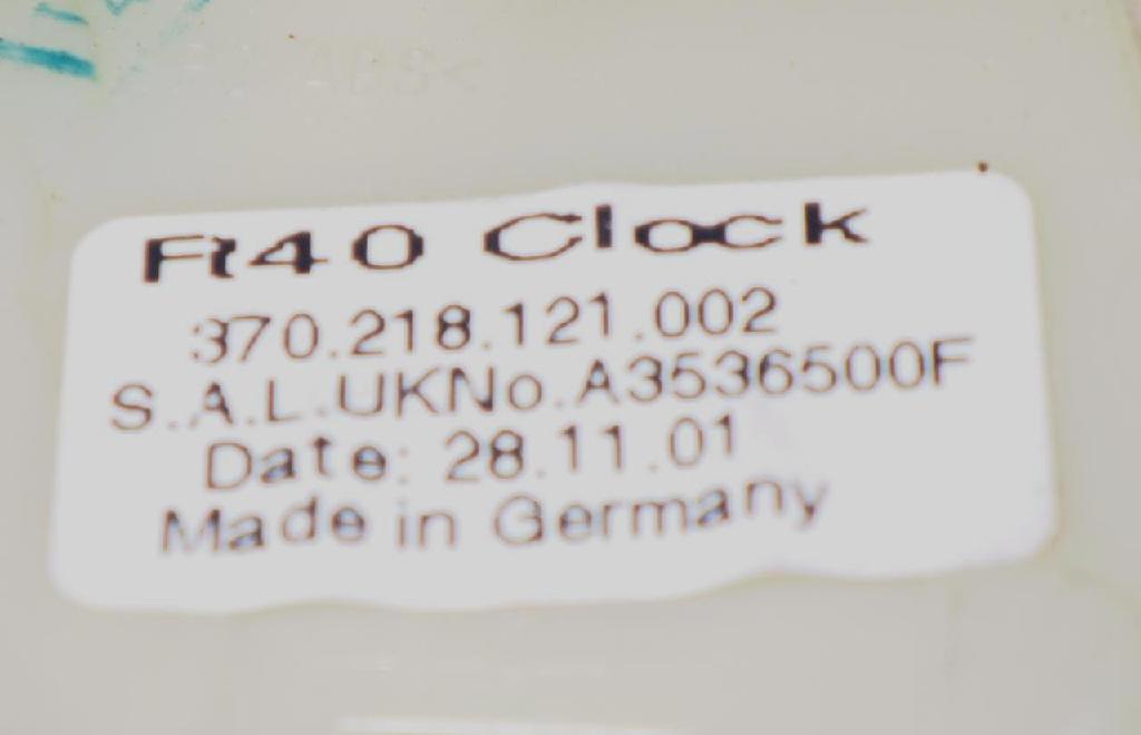 Uhr ROVER 75 Tourer (RJ) 2.0 CDT 370.218.121.002 Bild 3