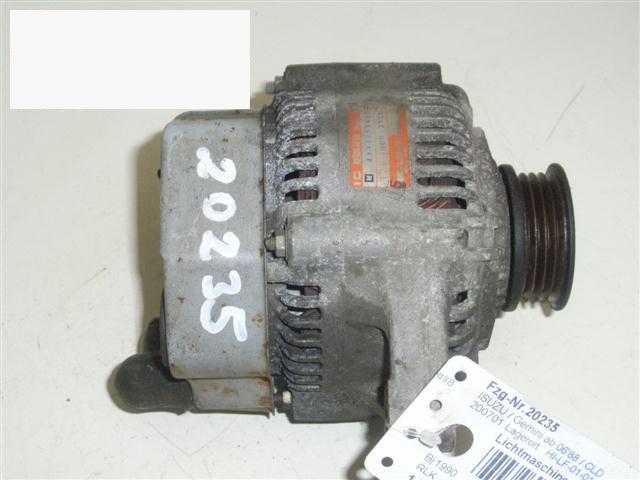 Lichtmaschine ISUZU GEMINI (JT) 1.6 GTI 16V 8943258452
