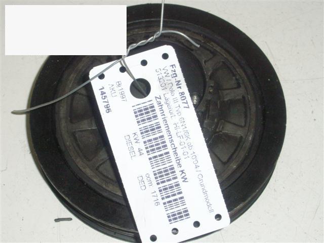 Zahnriemenscheibe Kurbelwelle VW POLO (6N1) 60 1.7 SDI 028105243AC