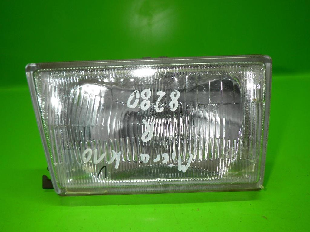 Scheinwerfer rechts komplett NISSAN (DATSUN) MICRA I (K10) 1.0