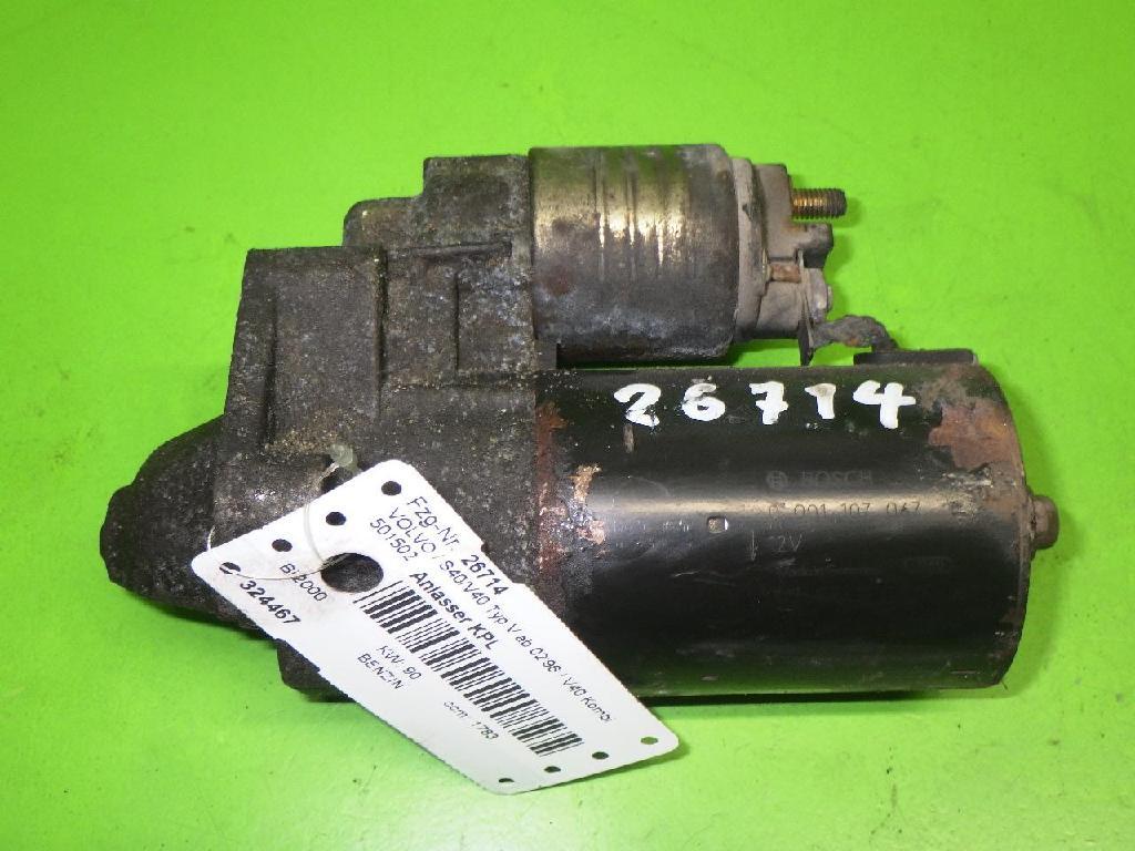Anlasser komplett VOLVO V40 Kombi (645) 1.8 0001107067