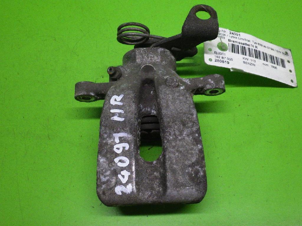 Bremssattel hinten rechts LANCIA LYBRA SW (839BX) 2.0 20V (839BXC11, 839BXC1A)