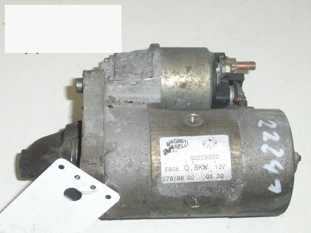 Anlasser komplett FIAT PUNTO (176_) 60 1.2 63223200