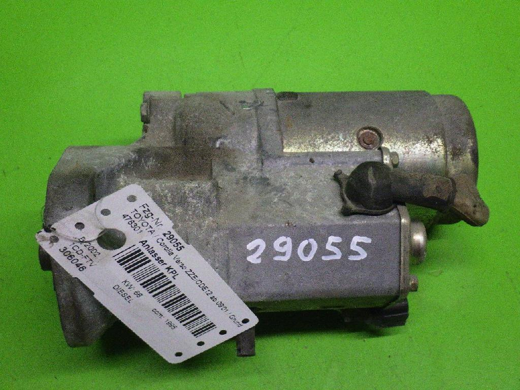 Anlasser komplett TOYOTA COROLLA Verso (_E12_) 2.0 D-4D (CDE120_) 28100-64430
