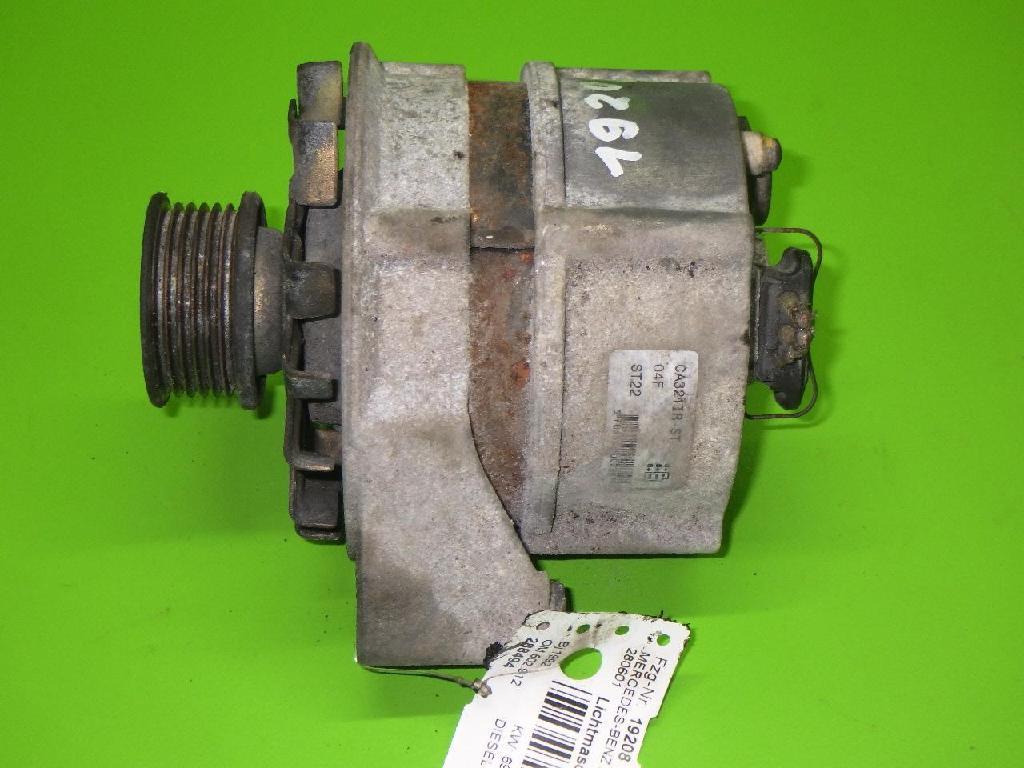 Lichtmaschine MERCEDES-BENZ Stufenheck (W124) 250 D (124.125)