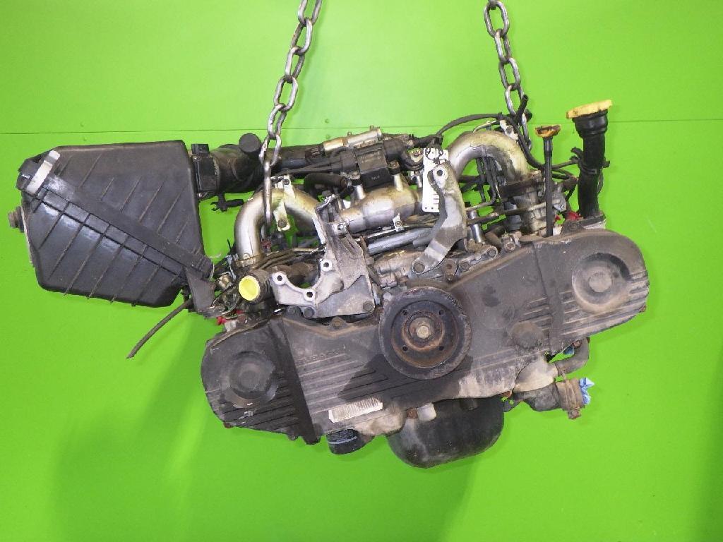 Benzinmotor Motor ohne Anbauteile Benzin SUBARU IMPREZA Stufenheck (GC) 1.6 i AWD EJ16