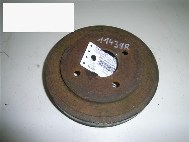 Bremstrommel hinten rechts NISSAN (DATSUN) MICRA II (K11) 1.0 i 16V