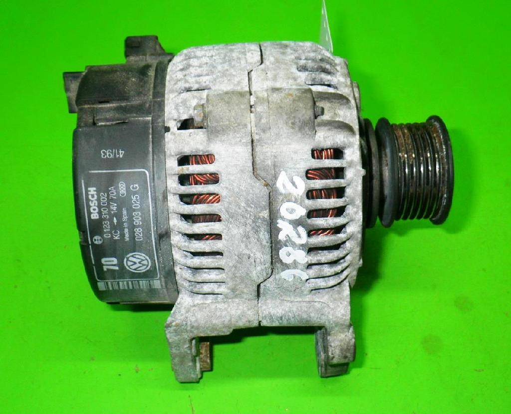 Lichtmaschine VW GOLF III (1H1) 1.9 D 0123310002