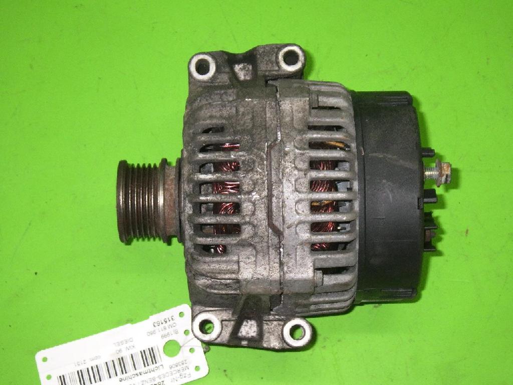 Lichtmaschine MERCEDES-BENZ V-KLASSE (638/2) V 220 CDI (638.294) 0123510082
