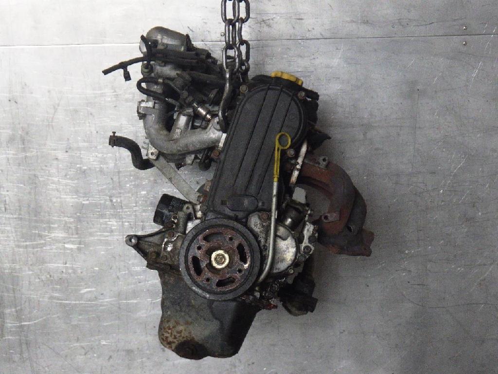 Benzinmotor Motor ohne Anbauteile Benzin SUBARU JUSTY I (KAD) 1200 4WD EF12