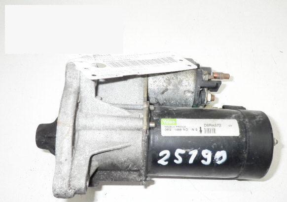 Anlasser komplett PEUGEOT 206 CC (2D) 1.6 16V D6RA572