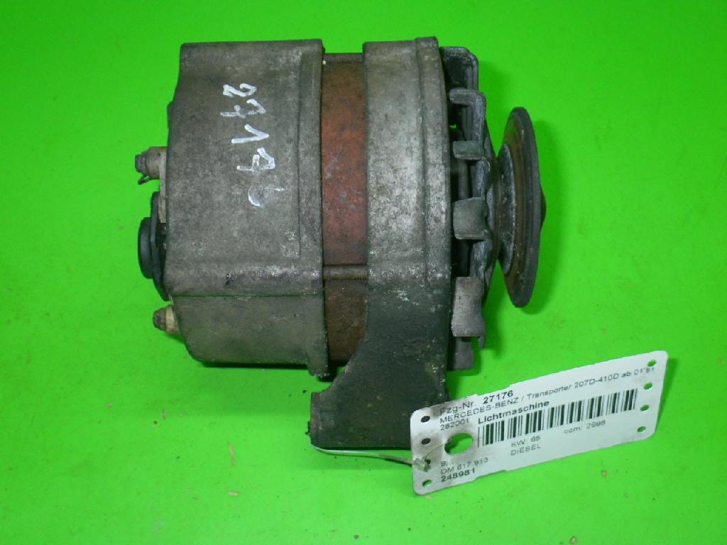 Lichtmaschine MERCEDES-BENZ T1 Pritsche/Fahrgestell (602) 309 D 3.0 0120489917