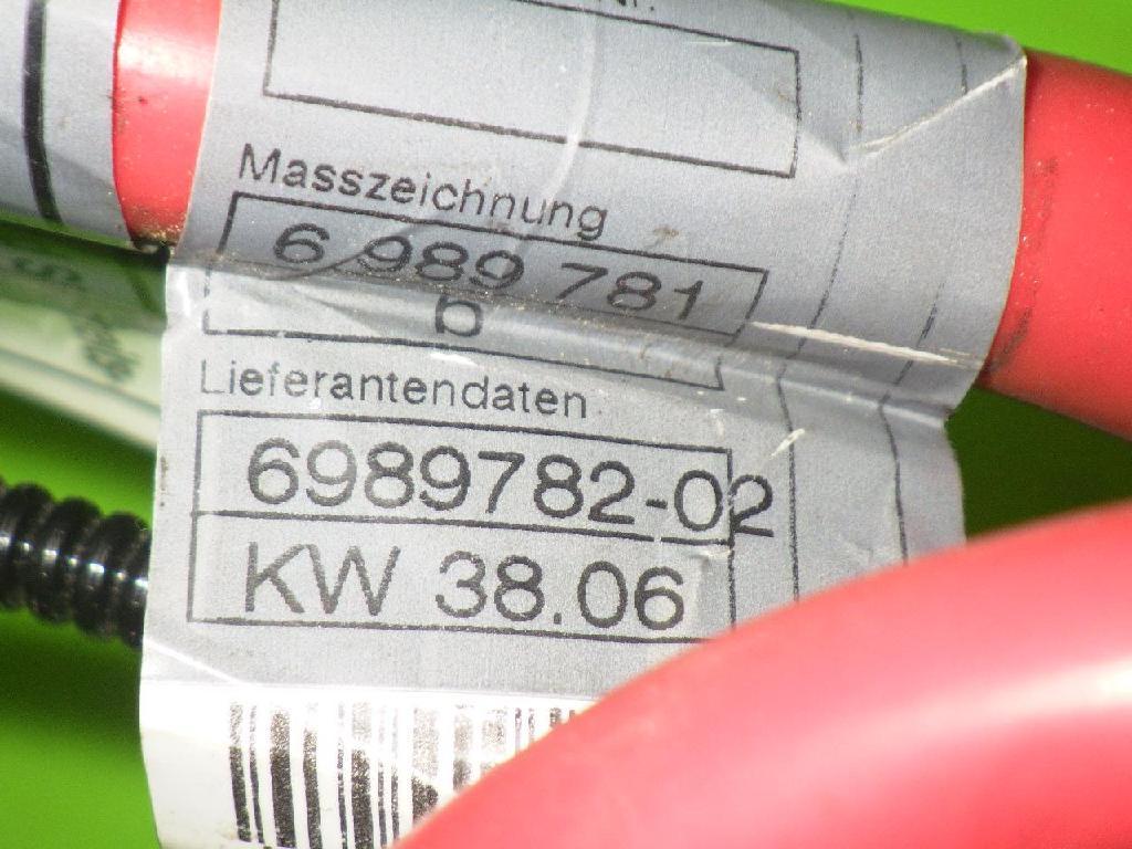 Sicherheitsbatterieklemme (SBK) BMW 5 Touring (E61) 520 d 6989782-02 Bild 4