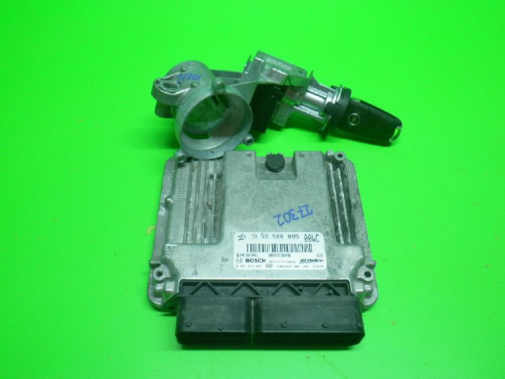 Steuergerät Motor OPEL CORSA D 1.3 CDTI 0281019087